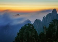 Visiting Huangshan in China
