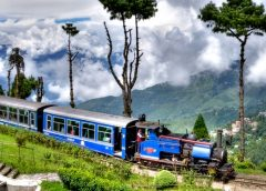 Amazing sightseeing from windows on unknown Indian train routes!